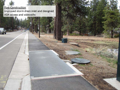 Pedestrian Improvements along Pioneer Trail